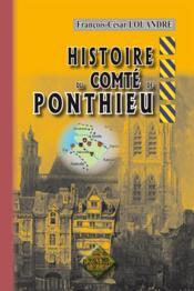 Histoire du comté de Ponthieu - Couverture - Format classique