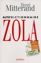 Autodictionnaire Zola - Couverture - Format classique