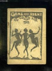 Almanach Des Gens Qui Rient.1928. - Couverture - Format classique