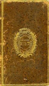 Melanges Historiques Et Litteraires, Tome Ii - Couverture - Format classique