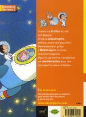 Les petis métiers d'Ugo et Liza ; Ugo et Liza cosmonautes - 4ème de couverture - Format classique