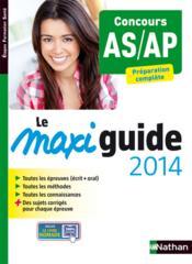 telecharger Le maxi guide 2014 – concours AS/AP livre PDF en ligne gratuit