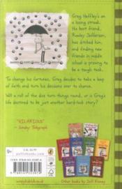 Diary of a Wimpy Kid: Hard Luck (8) - 4ème de couverture - Format classique