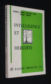 Raison présente n°53 : Intelligence et hérédité - Couverture - Format classique