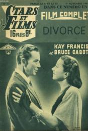 Stars Et Films - N°13 - Divorce - Couverture - Format classique