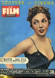 Lecture Et Cinema - Film Complet N° 513 - Le Maitre De Don Juan - Couverture - Format classique