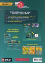 REFLEXE T.25 ; techniques de commercialisation ; IUT ; semestre 1 ; toutes les matières (édition 2014) - 4ème de couverture - Format classique