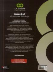 Galops 5 à 7 ; réussir avec l'éthologie - 4ème de couverture - Format classique