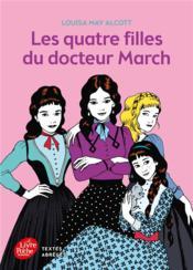 Les quatres filles du docteur March - Couverture - Format classique