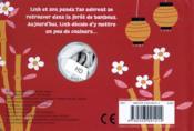 Linh et son panda - 4ème de couverture - Format classique