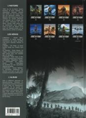 Lignes de front t.7 ; la piste de Kokoda - 4ème de couverture - Format classique