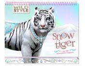 Wild style ; snow tiger ; carnet créatif - Couverture - Format classique