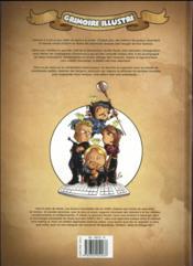 Noob HORS-SERIE ; grimoire illustré - 4ème de couverture - Format classique