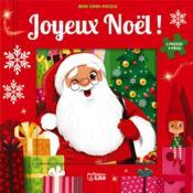 Livre puzzle ; joyeux Noël - Couverture - Format classique