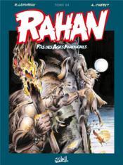 Rahan ; INTEGRALE VOL.24 - Couverture - Format classique