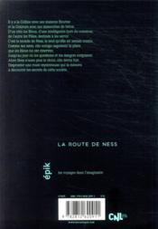 La route de Ness - 4ème de couverture - Format classique