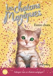 Les chatons magiques T.3 ; entre chats - Couverture - Format classique
