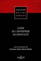 Guide De L'Entreprise En Difficulte - Couverture - Format classique