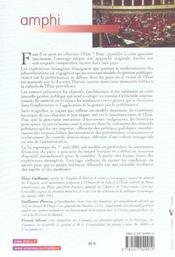 Gestion publique. l'etat et la performance - 1ere ed. - 4ème de couverture - Format classique