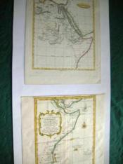 Carte ancienne. Afrique Orientale - Côte orientale d'Afrique. 2 cartes. - Couverture - Format classique