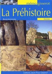La préhistoire - Intérieur - Format classique