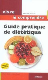 Guide Pratique De Dietetique 2e Edition - Intérieur - Format classique