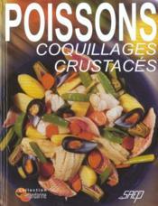 Poissons coquillages crustaces - Couverture - Format classique