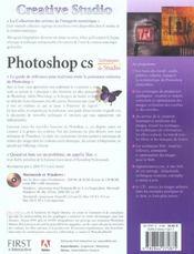 Photoshop Cs, Techniques De Studio - 4ème de couverture - Format classique