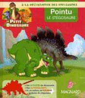 Pointu, le stégosaure - Couverture - Format classique