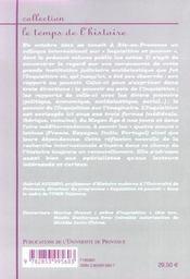 Inquisition et pouvoir. actes du colloque international tenu à la Maison méditerranéenne des sciences de l'homme, Aix-en-Provence, 24-26 octobre 2002 - 4ème de couverture - Format classique