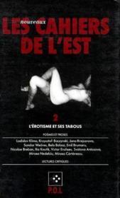 LES NOUVEAUX CAHIERS DE L'EST N.2 ; l'érotisme et ses tabous - Couverture - Format classique