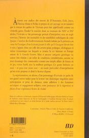 Le roman des quetes de l ecrivain 1890 - 1925 - 4ème de couverture - Format classique