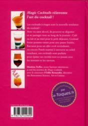 Magic cocktails - 4ème de couverture - Format classique