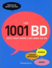 Les 1001 bd qu'il faut avoir lues dans sa vie - Couverture - Format classique