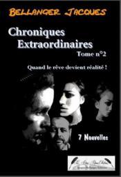 Chroniques extraordinaires t.2 - Couverture - Format classique