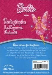 Barbie t.8 ; Fairytopia t. 1 ; le royaume enchanté - 4ème de couverture - Format classique