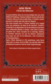 L'école des Robinsons - 4ème de couverture - Format classique