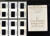 Diapositives Milieux Hommes Et Civilisation. Les Localisations Industrielles En Europe. - Couverture - Format classique