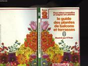 Guide Des Plantes De Balcon Et Terrasses - Couverture - Format classique