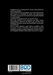 Sanctus purificatus - 4ème de couverture - Format classique