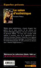 Les interdits T.452 ; le salon d'esthétique - 4ème de couverture - Format classique