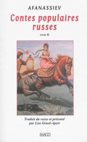 Contes populaires russes t.2 (2e édition) - Couverture - Format classique