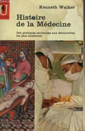 Histoire De La Medecine - Couverture - Format classique