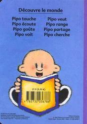 Pipo Goute - 4ème de couverture - Format classique