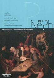 La neph t.1 ; la nouvelle école des philosophes - Couverture - Format classique