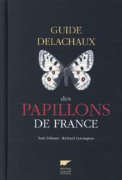 Guide des papillons de France - Couverture - Format classique