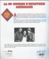 Les unités alliées de la Libération ; la 45e division d'infanterie américaine - 4ème de couverture - Format classique
