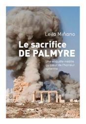 Le sacrifice de Palmyre - Couverture - Format classique