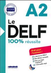 Nouveau DELF A2 (édition 2016) - Couverture - Format classique