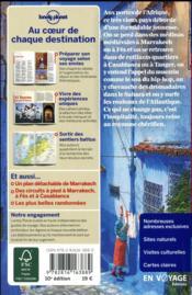 Maroc (10e édition) - 4ème de couverture - Format classique